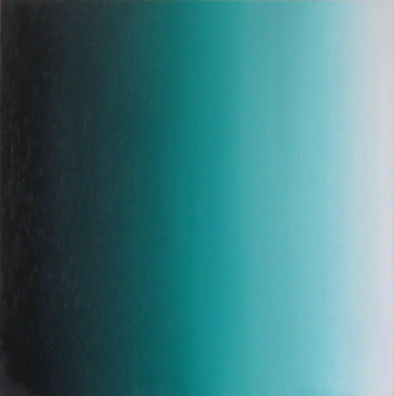 Blur-View 11, Oleo sobre tabla, 27x27cm, 2018