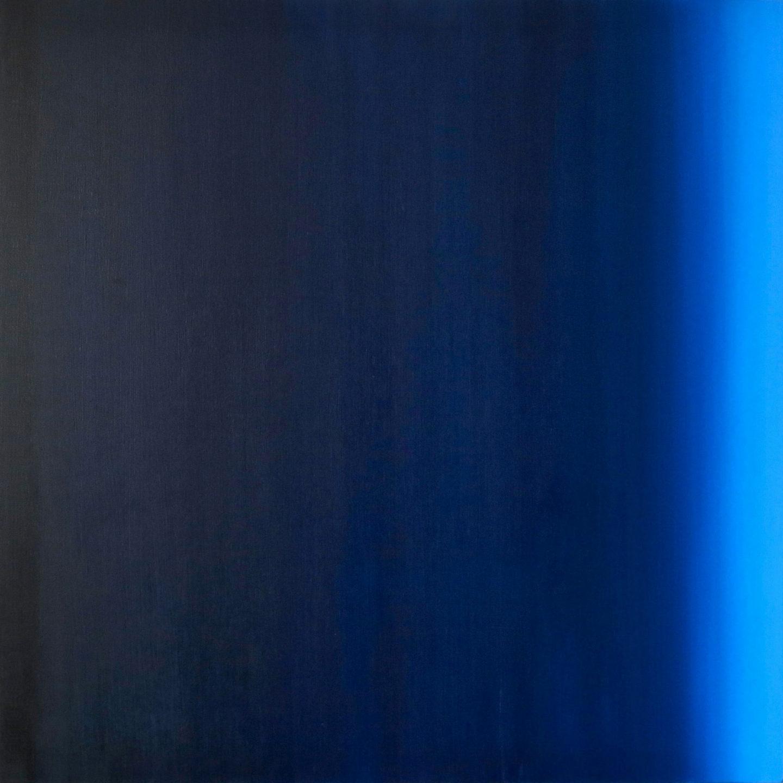 Blur-View 15, Oleo sobre tabla, 80x80cm, 2018