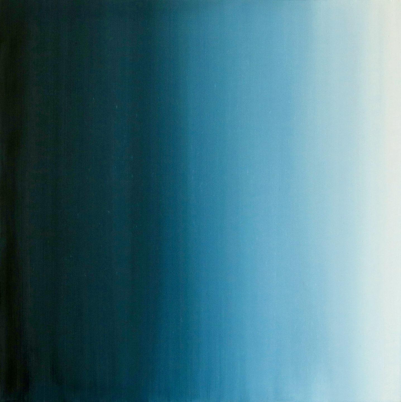 Blur-View 16, Oleo sobre tabla, 40x40cm, 2018