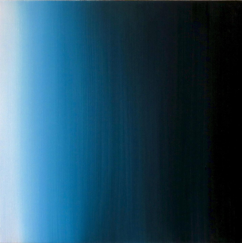 Blur-View 17, Oleo sobre tabla, 30x30cm, 2018