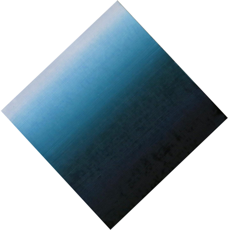 Blur-View 19, Oleo sobre tabla, 16x16cm, 2018