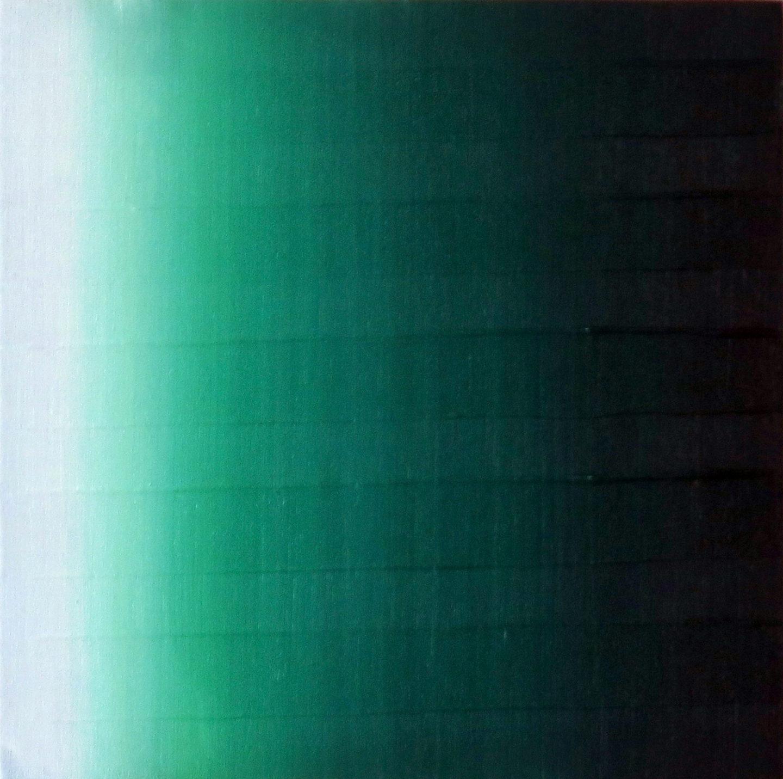 Blur-View 22, Oleo sobre tabla, 20x20cm, 2018