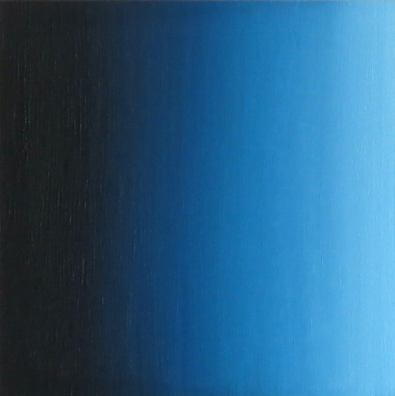 Blur-View 4, Oleo sobre tabla, 16x16cm, 2018